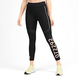 PUMA x SELENA GOMEZ Women's Leggings, Puma Black-Peach Bud, small