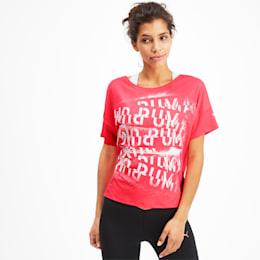 フィール イット SS ウィメンズ トレーニング Tシャツ 半袖, Pink Alert, small-JPN