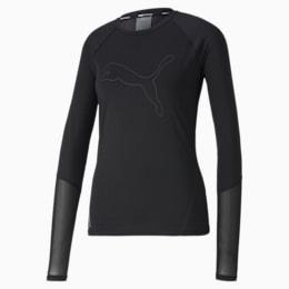 Runner ID Long Sleeve-løbe-T-shirt til kvinder