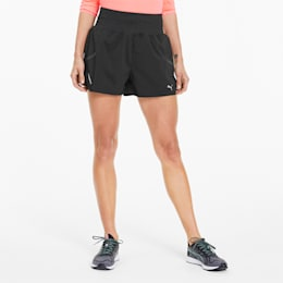 "Runner ID 3"" Women's Training Shorts, Puma Black, small"