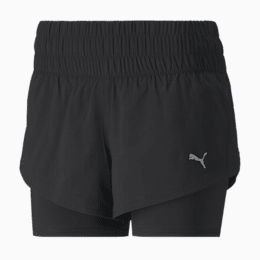 Last Lap 2-in-1 Women's Shorts, Puma Black, small