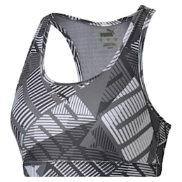 4Keeps Graphic Bra PM, Puma Black-White-Be Bold Prt, small-IND