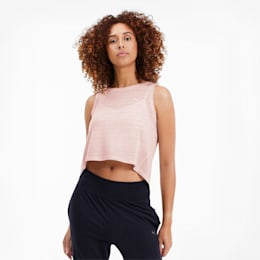 Top Studio Crop Lace ank pour femme, Rosewater, small