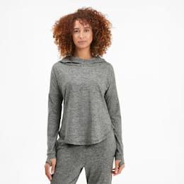 Studio Lace Women's Hoodie, Medium Gray Heather, small