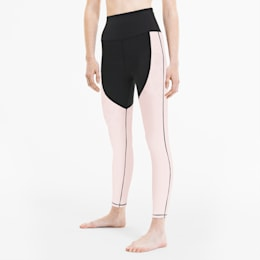 Studio Porcelain Damen Training Tight, Puma Black-Rosewater, small