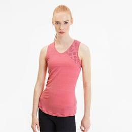 Camiseta sin mangas de malla estampada Studio para mujer