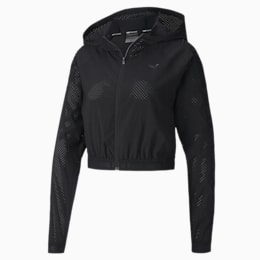 Be Bold Damen Training Gewebte Jacke, Puma Black, small
