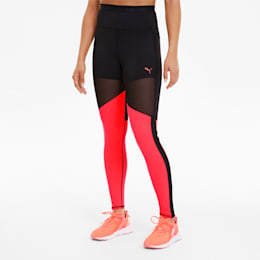 Be Bold THERMO R+ Women's Training Tights, Puma Black-Ignite Pink, small