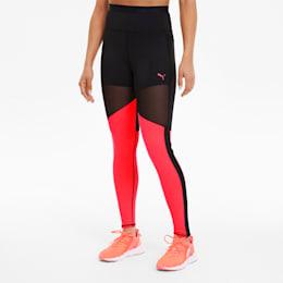 Leggings desportivas Be Bold THERMO R+ para mulher, Puma Black-Ignite Pink, small