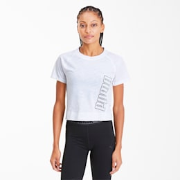 Logo Elastic Women's Training Tee
