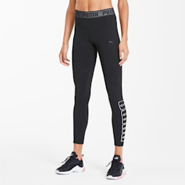 Logo Elastic Women's 7/8 Leggings, Puma Black, small