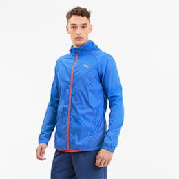 Last Lap Lightweight Men's Running Jacket, Palace Blue, small