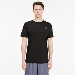 Runner ID THERMO R+ Men's Tee, Puma Black, small