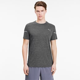 Runner ID THERMO R+-T-shirt til mænd, Dark Gray Heather, small