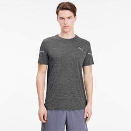 T-shirt Runner ID THERMO R+ da uomo, Dark Gray Heather, small