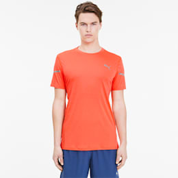 Runner ID THERMO R+-T-shirt til mænd, Lava Blast, small