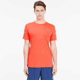 T-shirt Runner ID THERMO R+ da uomo, Lava Blast, small