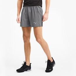 "IGNITE Session 5"" Men's Training Shorts, CASTLEROCK-Puma Black, small-SEA"