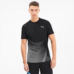 Camiseta para correr estampada Last Lap para hombre