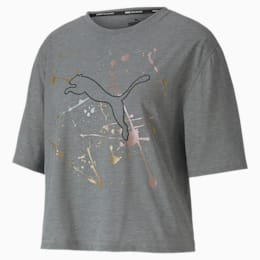 Metal Splash Graphic Damen Training T-Shirt