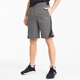 Power BND Knitted Men's Training Shorts, CASTLEROCK-Puma Black, small