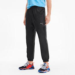 Calças desportivas Reactive em tecido para homem, Puma Black, small