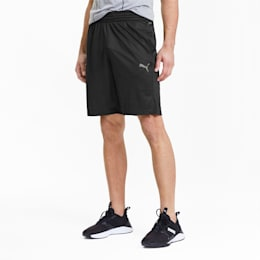 Reactive Men's Knitted Training Shorts, Puma Black, small