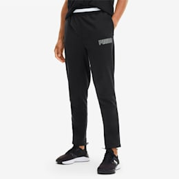 Collective Men's Warm Up Sweatpants, Puma Black, small