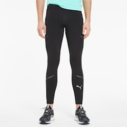 Runner ID Long Men's Running Tights, Puma Black, small
