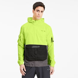 PUMA x FIRST MILE Men's Utility Jacket, Yellow Alert, small