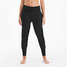 Studio Damen Training Taillierte Hose, Puma Black, small