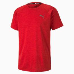 T-shirt desportiva Heather Short Sleeve para homem