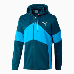 Extract Men's Hooded Jacket, Gibraltar Sea-French Blue, small