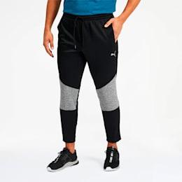 Extract Men's Colorblock Pants, Black-Medium Gray Heather, small