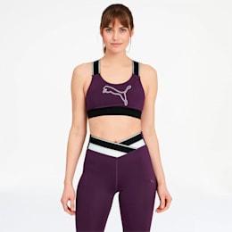 METALUX Feel It Women's Bra, Plum Purple, small