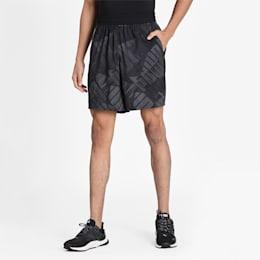 AOP Woven Short, Puma Black-AOP, small-IND