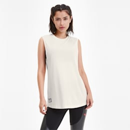 PUMA x ADRIANA LIMA Loose Fit Women's Tank Top, Whisper White, small