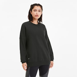 PUMA x ADRIANA LIMA Crew Women's Sweater, Puma Black, small