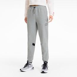 Pantalones de chándal de punto de mujer PUMA x ADRIANA LIMA, Light Gray Heather, small
