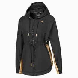 Metal Splash Hooded Women's Training Anorak