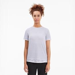 Camiseta combinada con encaje Studio para mujer