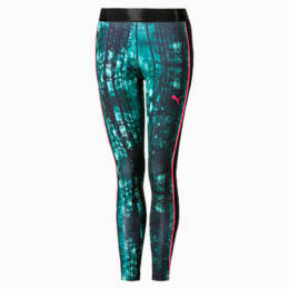 Nature All-Over Printed Women's Leggings, Storm-Nature Aop, small
