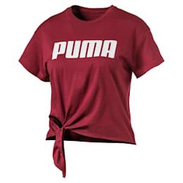 T-Shirt avec nœud pour fille
