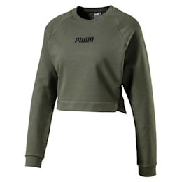 PUMA x PAMELA REIF Lace-Up Damen Kurzes Sweatshirt