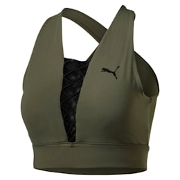 PUMA x PAMELA REIF Lace-Up Women's Bra Top