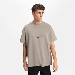 T-Shirt Boxy pour homme, Elephant Skin, small