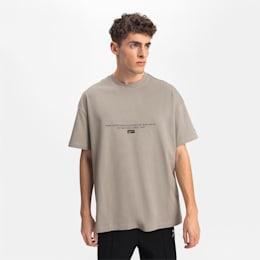 T-shirt Boxy para homem, Elephant Skin, small