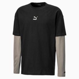 T-shirt voor heren met lange mouwen