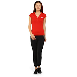Ferrari Women's Polo, rosso corsa, small-IND