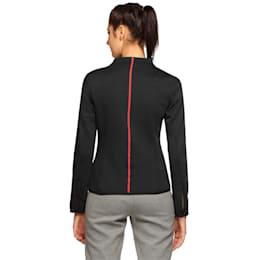 Ferrari Women's Sweat Jacket, Moonless Night, small-IND